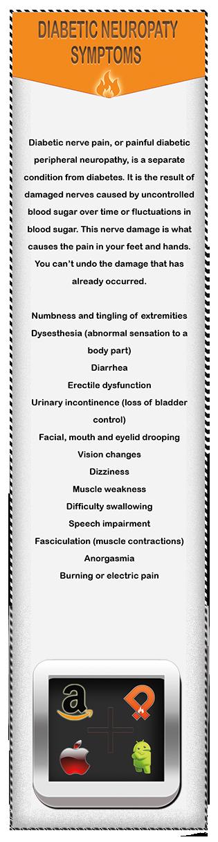 power of pain bookmark diabetic neuropathy