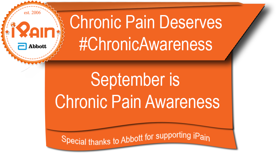 September is chronic awareness month with iPain and Abbott